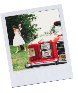 Vintage wedding celebrant